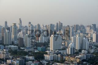 THAILAND BANGKOK SUKHUMVIT SKYLINE
