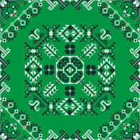 Romanian traditional pattern 201