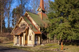 Stabkirche Albrechtshaus Harz Stiege