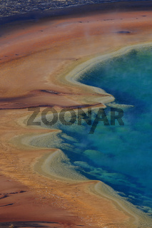Grand Prismatic Spring im Yellowstone National Par