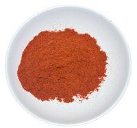 Paprika on white