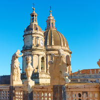 Saint Agatha Cathedral in Catania,