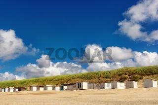 Strandhäuser am Strand