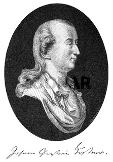 Johann Christian Kestner, 1741-1800, German jurist and archivist,