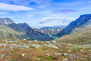Besseggen Ridge in Jotunheimen National Park