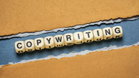 copywriting word - marketing, advertising and public relations