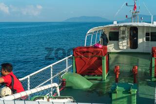 Fähre von der Insel Pangkor zum Festland