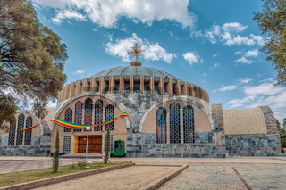 Church of Our Lady of Zion in Axum, Ethiopia