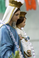 Religious image of Our Lady mother of Jesus