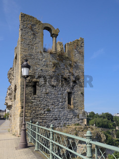 Luxemburg Stadt - Ruine Huelen Zant, Luxemburg, Europa