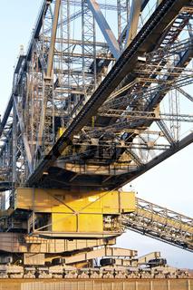 Förderbrücke Tagebau