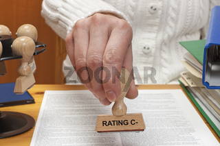 Rating C-