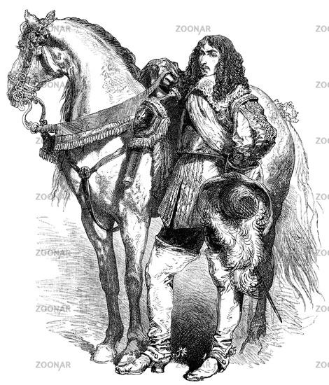 Louis de Bourbon, Prince of Condé, 1621-1686, a French general