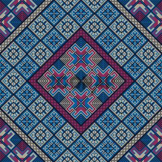 Palestinian embroidery pattern 275
