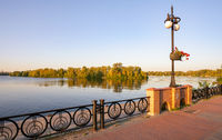 Promenade along the Dnieper River