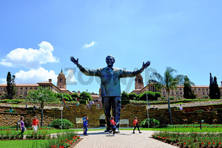 Nelson Mandela Statue vor dem Union Buildings, Pretoria Südafrika