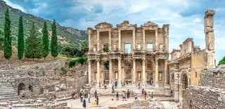 Library of Celsus in antique Ephesus, Turkey