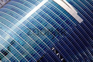 floors of the skyscraper