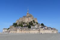 The island mont-saint-michel