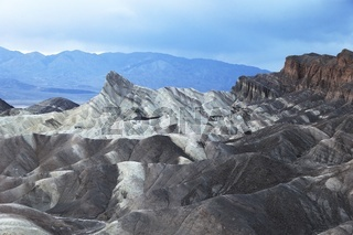 Zabriskie Point in the Death Valley National Park, California, USA, United States of America
