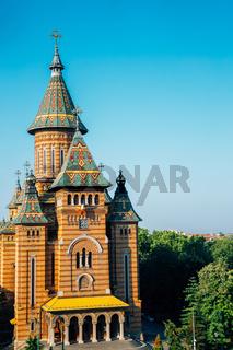 Orthodox Metropolitan Cathedral in Timisoara, Romania