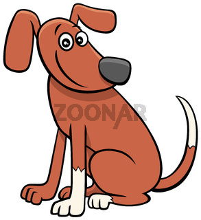 cartoon dog or puppy comic animal character