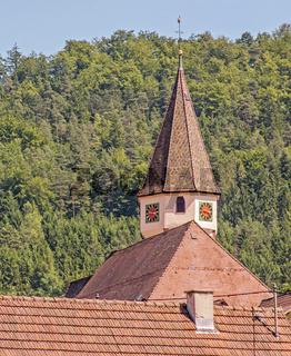 Evangelische  Martinskirche, Wildberg im Schwarzwald, Landkreis Calw
