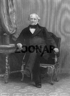 George Peabody, 1795 - 1869, an American-British philanthropist