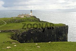 Leuchtturm Nest Point, Insel Skye, Schottland