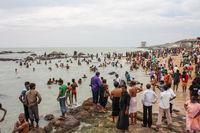 Beach in Kanyakumari, India