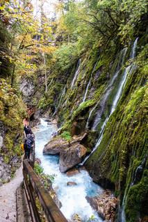 Der Wimbachklamm im Nationalpark Berchtsgaden, Deutschland