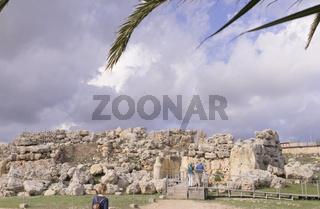 Ggantija Temple on Gozo