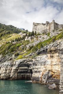 Portovenere, Schloss, Cinque Terre, Ligurien