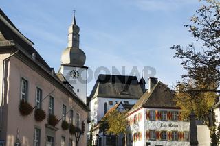 Alter Markt in Arnsberg, Sauerland, NRW, Deutschland