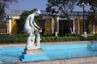 Danaide in the Parque Municipal in Barranco, Lima, Peru