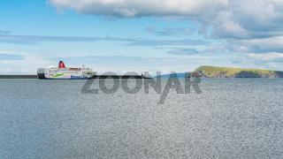 Fishguard Bay, Goodwick, Pembrokeshire, Dyfed, Wales, UK