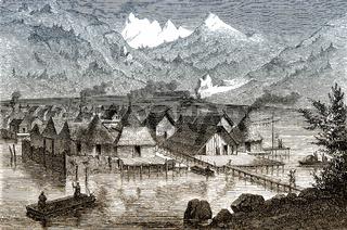 Prehistoric pile dwellings in Switzerland