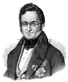 Karl Robert Count of Nesselrode, 1780 - 1862, a Russian diplomat