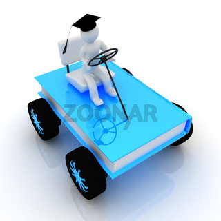 on race cars in the world of knowledge. The concept of rapid learning