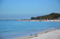 Beach on Anna Maria Island at the Gulf of Mexico, Florida