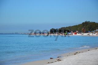 Strand auf Anna Maria Island am Golf von Mexico, Florida