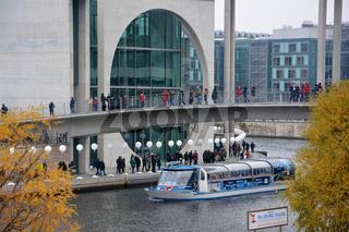 25Jahre Mauerfall Berlin Spreebogen