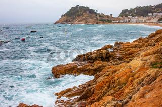 Tossa de Mar, Spain, Bay Badia de Tossa, 18-06-2013