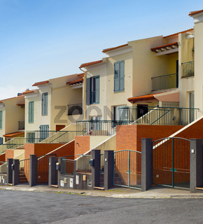 Modern apartment residential buildings Madeira