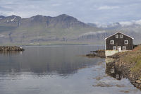 Lonesome house, Djúpivogur, Iceland