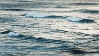 Ocean water and waves