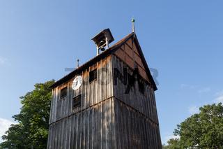 Wooden Bell Tower in Wienhausen, Germany