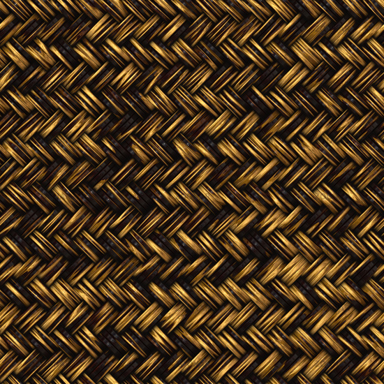 Seamless computer generated high quality woven twill
