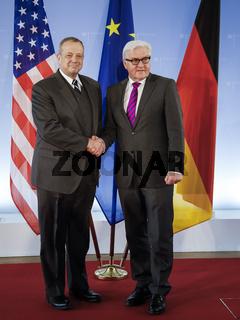 US General John Allen meets German Foreign Minister in Berlin
