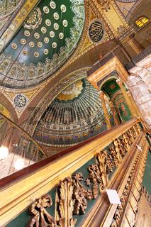 Alabaster Mosque Minbar